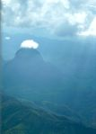 First sight of Laos from the plane